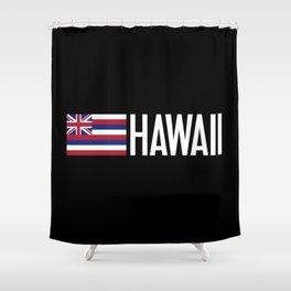 Hawaii: Hawaiin Flag & Hawaii Shower Curtain