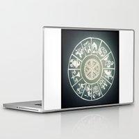 """zodiac Laptop & iPad Skins featuring """"Zodiac"""" by DiegoC"""