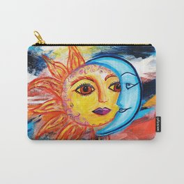 Sun and Moon United Carry-All Pouch