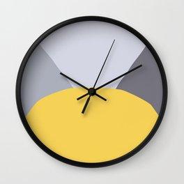 Deyoung Primrose Yellow Wall Clock