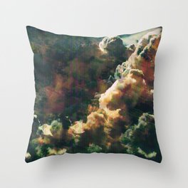 Electromagnetic Waves Throw Pillow