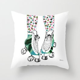 Whip It! Throw Pillow