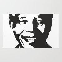 mandela Area & Throw Rugs featuring Mandela by b & c