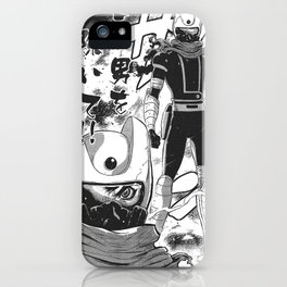 Manga 04 iPhone Case