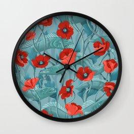 Barracuda - Aqua version Wall Clock