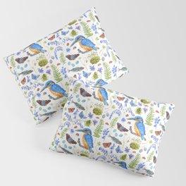 Woodland Stream Pattern Pillow Sham