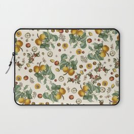 Apples Pears Peaches Laptop Sleeve