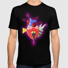 Cursed Heart MEDIUM Mens Fitted Tee Black