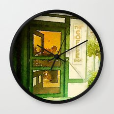 The Coffee Shop Wall Clock