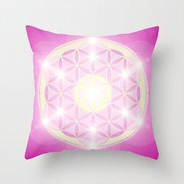 Flower of Life No. 01 Throw Pillow