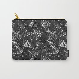 Summer grass , gray ,  black , white 2 Carry-All Pouch