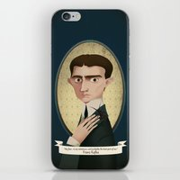 kafka iPhone & iPod Skins featuring Franz Kafka said... by Mrs Peggotty