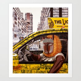 Urban Safari Art Print