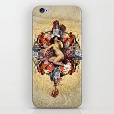 Kaleidoscope Woman iPhone & iPod Skin