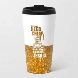 Lyric Art - 3 Travel Mug