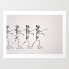 Hey Macarena! Art Print