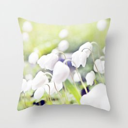 Spring miracles Throw Pillow