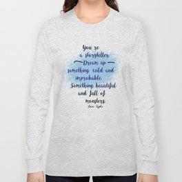 Storyteller | Strange the Dreamer Long Sleeve T-shirt