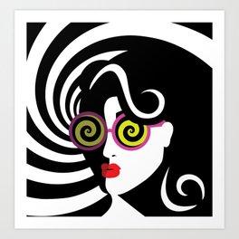 Hypnotize me Art Print
