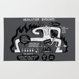 Absolutism Explained Rug