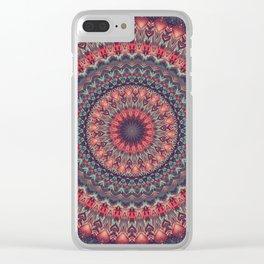 Mandala 417 Clear iPhone Case