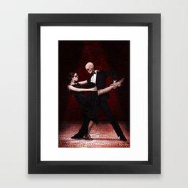 La Danza De La Muerte Framed Art Print