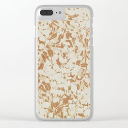 Brooklyn weeds Clear iPhone Case