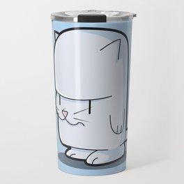The Little Stubborn Kitty Cat Travel Mug