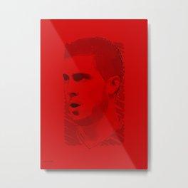 World Cup Edition - Eden Hazard / Belgium Metal Print