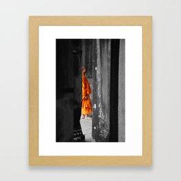 Saffron Portrait III Framed Art Print