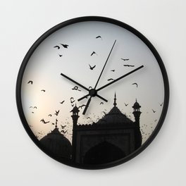the flight home Wall Clock