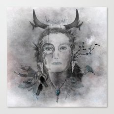 Wakanda (Dakota) - A collaboration with Christelle Guilhen Canvas Print