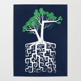 Square Root Poster