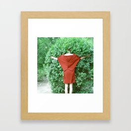 Quatre Couleurs Framed Art Print