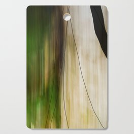 Forest, Water, Lines Cutting Board