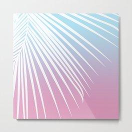 Pastel Palm 02 Metal Print