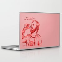 anchorman Laptop & iPad Skins featuring Anchorman: Milk was a Bad Choice by Red Misery