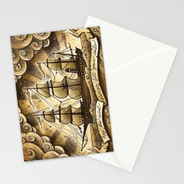Sailing Winds Stationery Cards