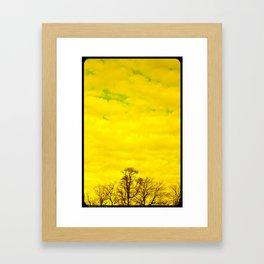 Tree Topper Framed Art Print