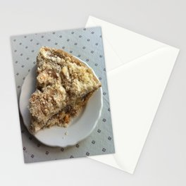 Amish apple pie Stationery Cards