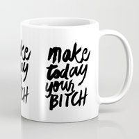 motivation Mugs featuring Motivation by Motivational