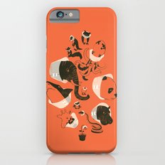 Cones of Shame (orange) iPhone 6 Slim Case