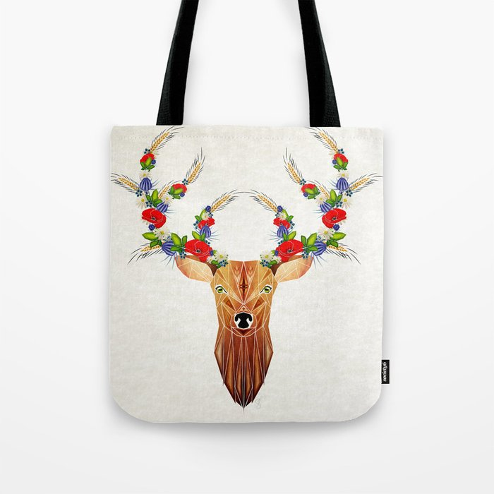 deer spring Tote Bag