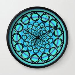 Iota Mandala Wall Clock
