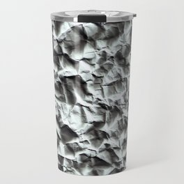 Crumpled paper. Travel Mug