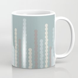 Bubbles in Dusty Teal Coffee Mug
