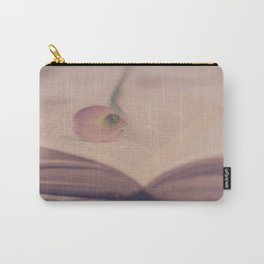 Calla Lily and Book Carry-All Pouch