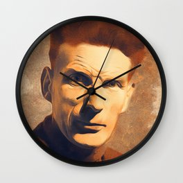 Samuel Beckett, Literary Legend Wall Clock
