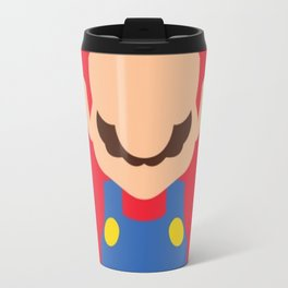 Mario Drawing Bros Travel Mug