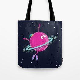 Space dancing Tote Bag